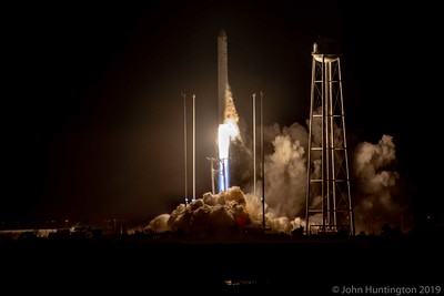 Orbital ATK Antares Launch to the ISS, Wallops Island, May 2018