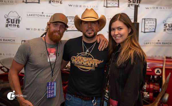 Meet & Greet with Jason Aldean | Sunfest Country Music Festival | Lake Cowichan BC