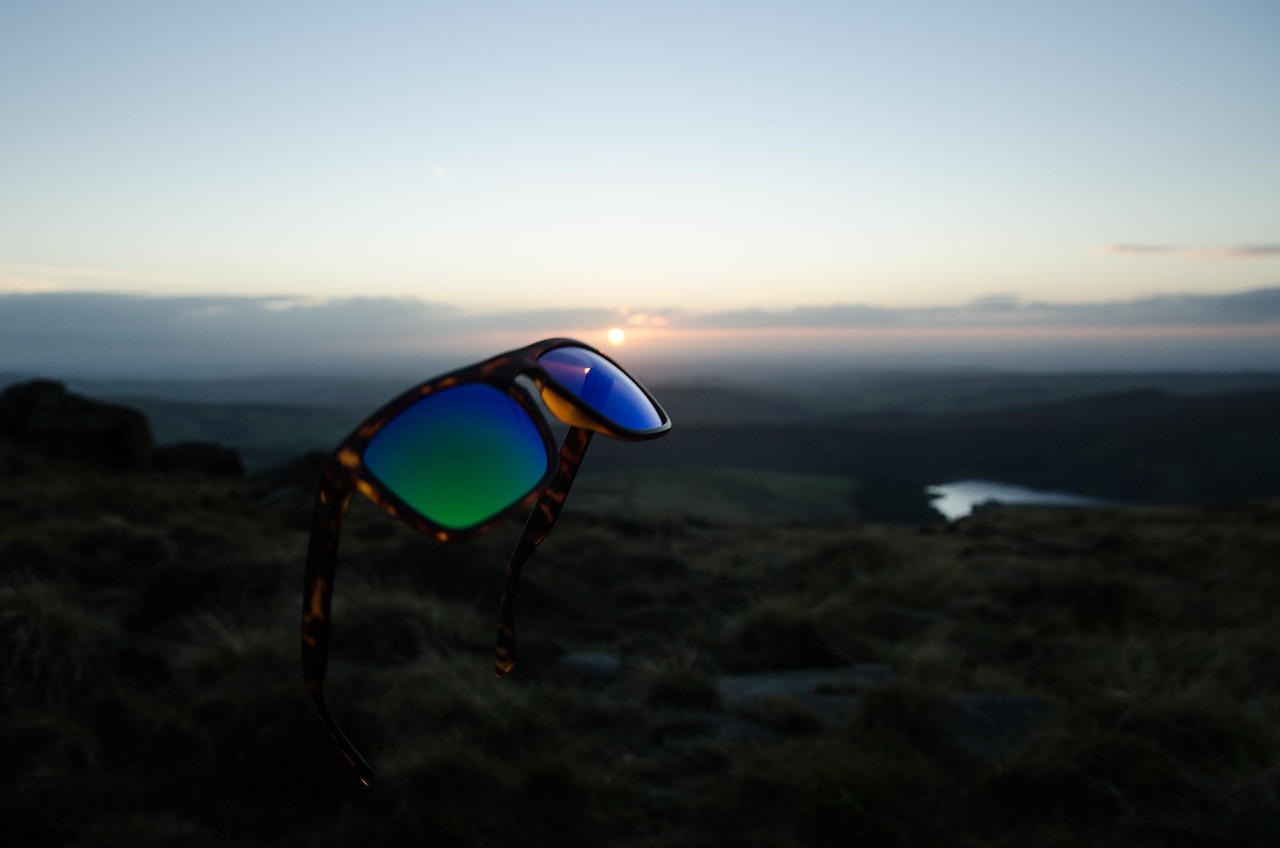Wild camped at Kinder Scout summit, Peak district