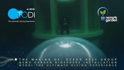 TODI Nemo's Garden Biosphere Installation