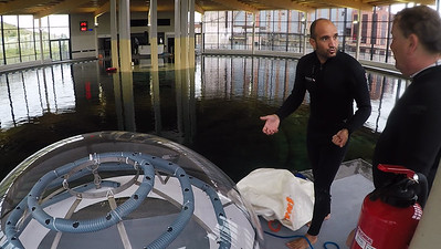 Nemo's Garden Biosphere Installation @ TODI Diving