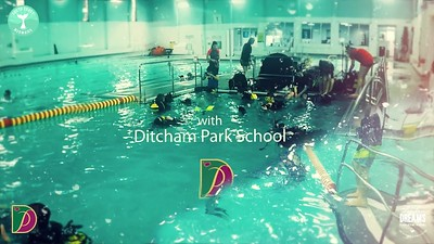 Sunken Dreams in Schools Workshop - Underwater Portraiture