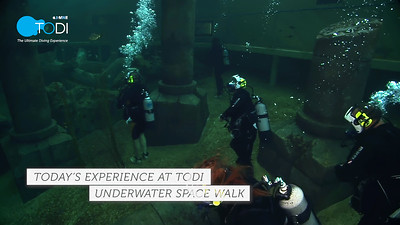Today at TODI: Underwater Space Walk (1 min)