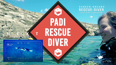Rescue Diver Course - Sunken Dreams e-Learning