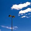 Light in Blue Sky