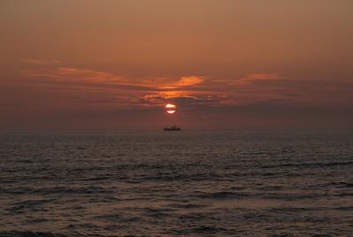 Sunset. Photo: Martin Bager