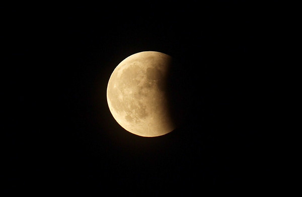 Moon eclipse. Photo: Martin Bager.