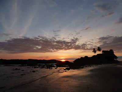 Costa Rica Pacific sunset