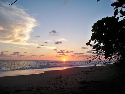 Sunset...... Pacific coast, Panama.