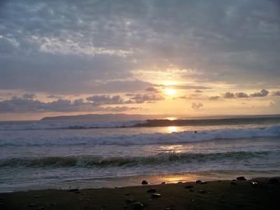 Pavones, Costa Rica. Surfers' paradise.