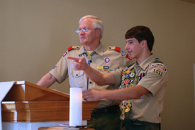 Cody Hudon's Eagle Scout Ceremony