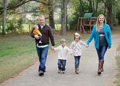 Caliendo Family, Fall 2014