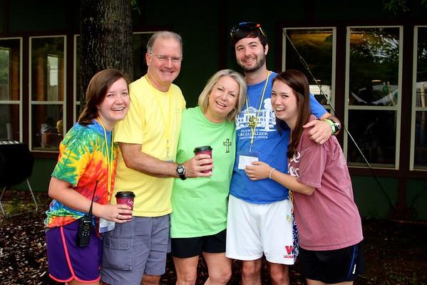 Graff Family at Camp Hope