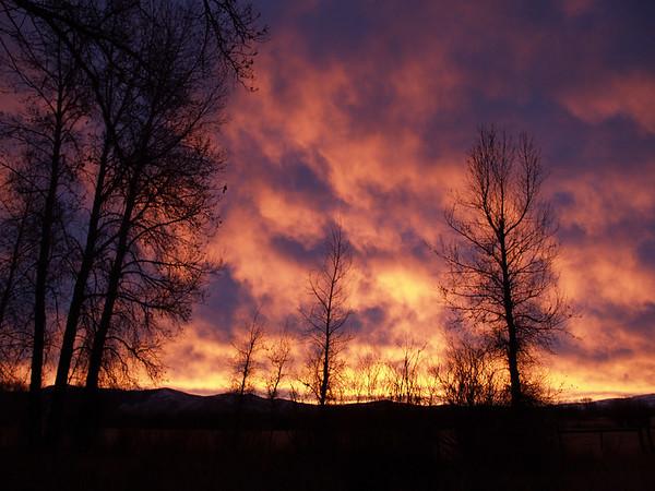 December sunrise.