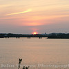 Sunset over the Fore River - Portland, Maine