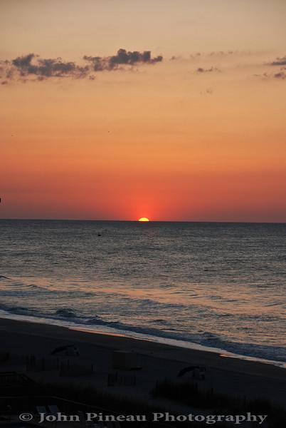 Sunrise over Mryrtle Beach - Myrtle Beach, South Carolina