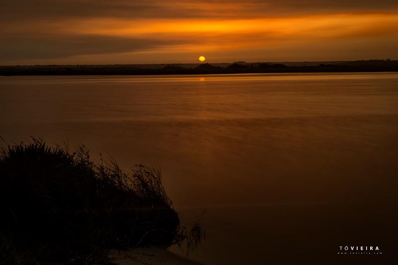 Sunset in Vagueira