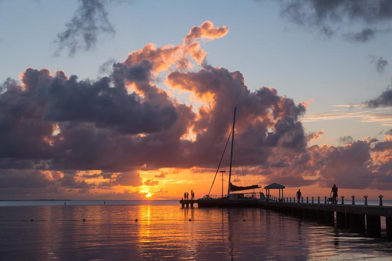 Rum Point Sunset