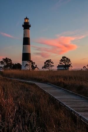 Bodie Island Lighthouse at Twilight
