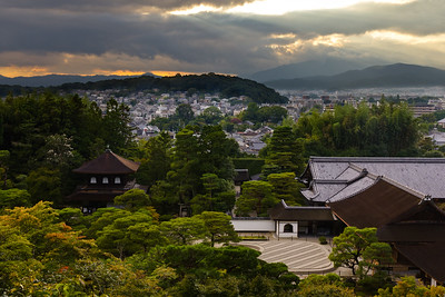 Ginkaku-ji Sunset