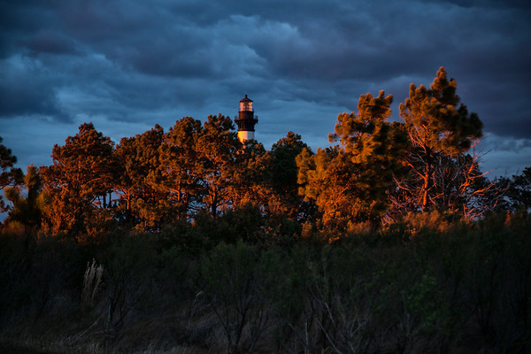 Sunset at Bodie Island