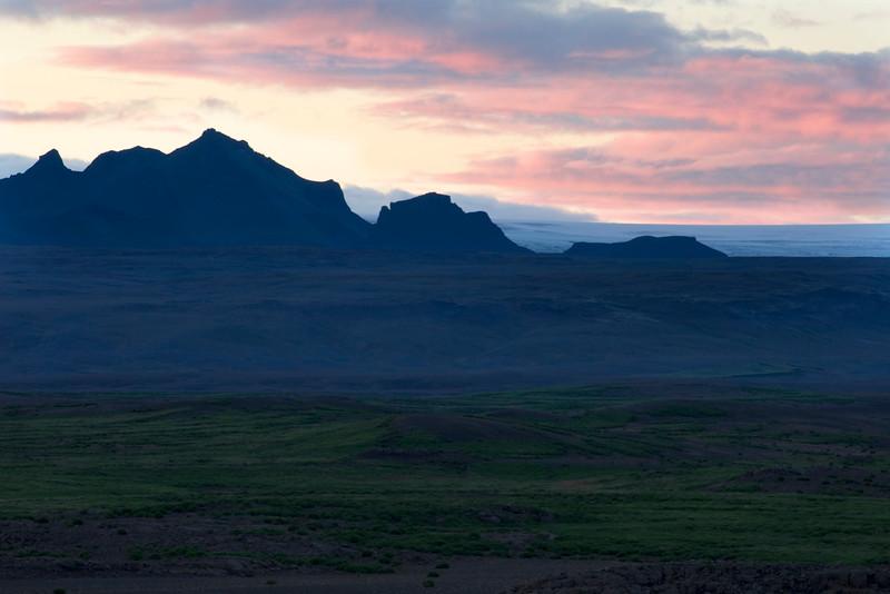 Sunset Near Gulfoss 11:40PM