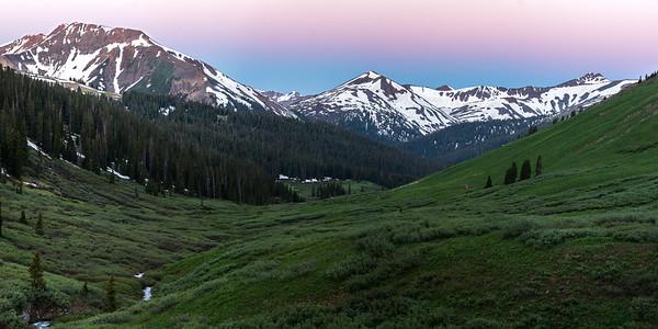 Purity Basin Sunrise