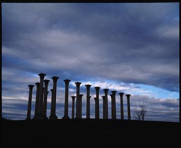 columns at sunset--Smugmug