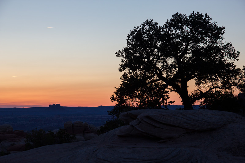 Sunset in the Needles District