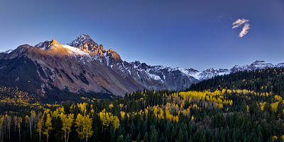 Last Light on Sneffels