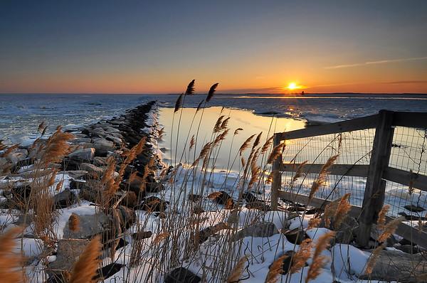 Winter Sun on the Chesapeake