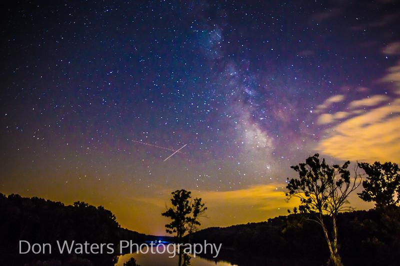 Milky Way over Yellowwood