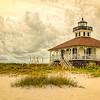 Boca Grande Lighthouse - Dramatic Sky Version