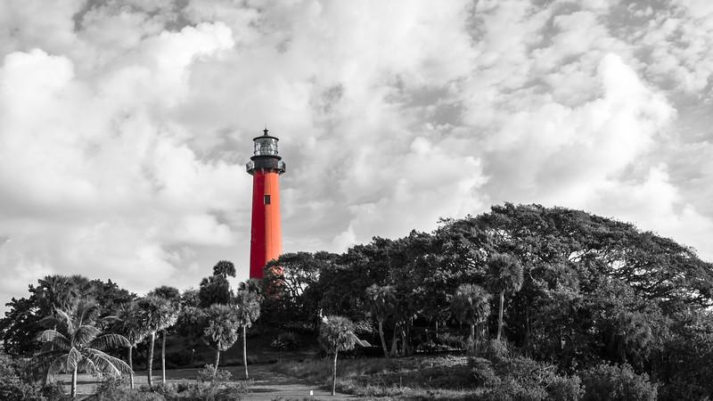 Jupiter Lighthouse - Red