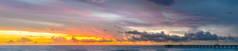 Sunrise Juno Beach Pier
