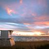 Lifeguard Tower Sunrise