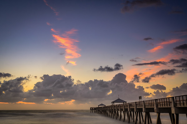 Twilight - Juno Beach Pier
