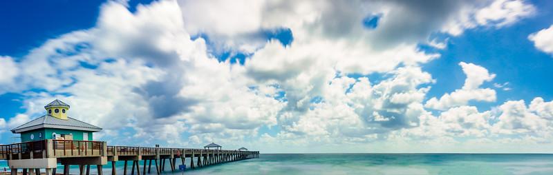 Juno Beach Pier - Panoramic