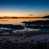 Bar Harbor Sunrise - Waxing Cresent Moon