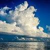 Cumulus Clouds - Calm Seas