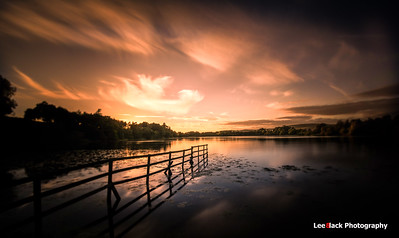 Balgavies Loch Sunset