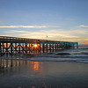 Sunrise Through Fishing Pier