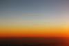 Sunrise over Europe from 32,000 feet