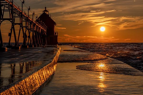 Golden Lake Michigan