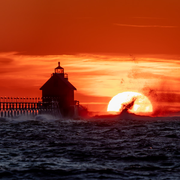 A Dance of Waves and Sun