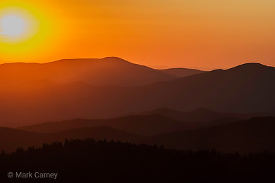 smoky mountain sunset 3