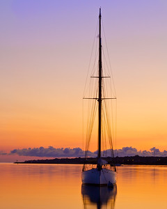 Sailboat, Vineyard Haven, Martha's Vineyard 120914_7664V3