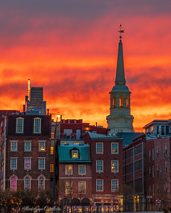 Philadelphia Old City Sunset