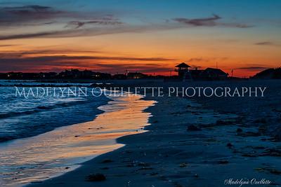 Sunset in Narragansett