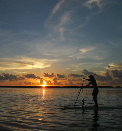 islamorada sunset paddle
